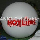 Воздушный шар партии воздуха PVC раздувной с печатью цифров