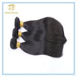 Hochwertige natürliche Farben-gerades Malaysia-Jungfrau-Haar mit Fabrik-Preis Wfmst-001