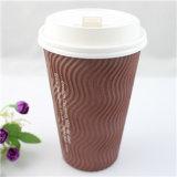 卸し売り使い捨て可能なカスタムロゴによって印刷される熱いコーヒーカップ