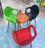 Стул отдыха PP мебели Stackable пластичный обедая стул