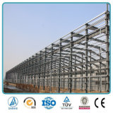 Vertiente industrial ligera prefabricada del almacenaje de la estructura de acero del almacén