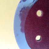 Disco magico stridente del nastro dell'ossido di alluminio di legno