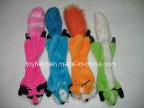 ペット咀嚼のプラシ天の動物のSqueaker犬のおもちゃ