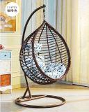 Silla de oscilación colgante al aire libre de la silla del oscilación del patio de los muebles del jardín