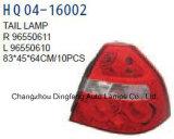 I passeggeri/driver appoggiano il rimontaggio della lampada per l'OEM 2007 della Chevrolet Aveo-T250/Lova 96550611/96550610/96650615/96650614