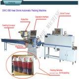 Les bouteilles d'alcool automatique Swsf-590 Emballage de la machine