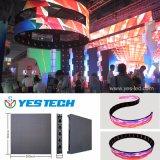 Flexibles video Innenzeichen des Vorhang-IP54 des Bildschirm-LED