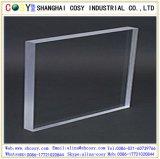 Feuille acrylique claire/feuille de plexiglass pour la décoration de construction