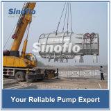 Pompe d'hélices de large volume submersible de moteur de l'eau