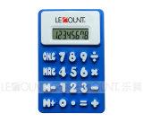 regalo de promoción de 8 dígitos Calculadora silicona plegable con imán (LC510B)