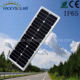 20W COB solar integrada en el exterior Calle luz LED