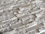 新しく、安い中国のベージュ大理石の芸術の石塀のタイル