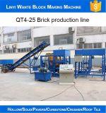 Hol het Bedekken van de Hydraulische Druk van de Prijs Qt4-25 van de fabriek Blok dat Machine in Fiji maakt