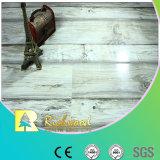revestimento estratificado resistente V-Grooved da água do carvalho da textura do Woodgrain de 12mm
