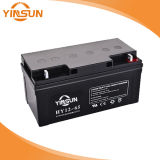 batería sin necesidad de mantenimiento de plomo sellada VRLA de la UPS de 12V 65ah