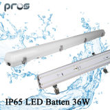 Emergencia LED Tri-Prueba de Luz, LED Vapor Tight Batten 36W