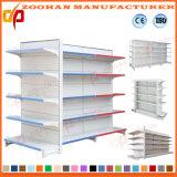 Qualität kundenspezifisches doppeltes Seiten-Gondel-Supermarkteinkaufen Regal (ZHs622)