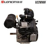 35HP de lucht koelde Dubbele Cilinder V de Motor 2V90f van de Benzine van het Type voor Verkoop