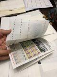 Segurança personalizada de alta qualidade em papel certificado Watermak UV