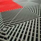 Для использования внутри помещений взаимосвязанных дренажных резиновый коврик пола гаража,