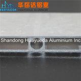 Profil en aluminium normal de mur rideau