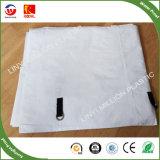 Protecção solar Mesh PE Tarp, personalizado para costura arredondada PE Tarp
