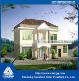 Vorfabriziertes Haus-Fertiggebäude-Licht-Stahl-Landhaus
