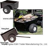 Alimentação de fábrica do utilitário galvanizado 1,09 x0.77Leves m ATV Trailer (TT0042)