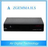 Самая лучшая спутниковая коробка низкой стоимости DVB-S2 MPEG4 H. s Zgemma приемника установленная верхняя
