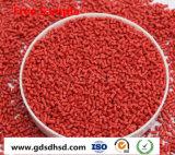 Rode Kleur Masterbatch voor de Plastic Grondstof van het Toetsenbord