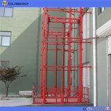Montage mural de 10 tonnes de fret à l'extérieur de l'élévateur hydraulique