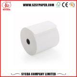 Roulis de papier thermosensible de coloration de long temps de qualité supérieur pour l'imprimante