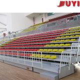 Jy-706サッカーのステンレス鋼移動式普及したTip-up望遠鏡VIPの引き込み式のプラスチックBleacherのシート