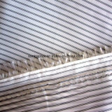 210t полиэстер черные полосы пряжи Вся обшивочная ткань из тафты ткани для одежды внутренней панели боковины