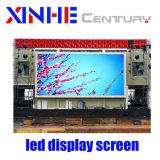 Im Freien farbenreicher Aluminiumvideowand-Bildschirm der miete LED-Bildschirmanzeige-P6mm LED