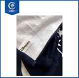 高品質のカスタマイズされた反応印刷の100%年の綿のビーチタオル