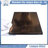 Bronze doré miroir Art Glass