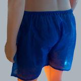 Migliori pantaloni medici blu non tessuti di qualità pp che fanno macchina