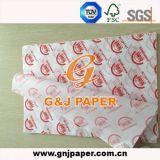 18GSM 24*34cm는 좋은 가격을%s 가진 기름이 안 배는 포장 종이를 인쇄했다