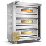 3 capas 3 de las bandejas del horno de gas para el asunto (WFC-303Q)