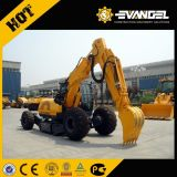 Excavadora de ruedas de 21 Ton XCMG xe210W