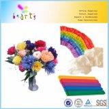 クレープ紙の花のパッキング