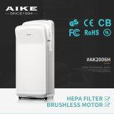 Modèle sans frottoir en plastique de dessiccateur de main de gicleur de salle de toilette de moteur d'ABS (AK2006H)