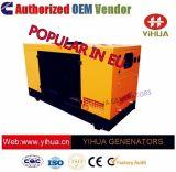 Generatore elettrico di potere diesel silenzioso del baldacchino dell'OEM 75kVA Cummins [20171017d']