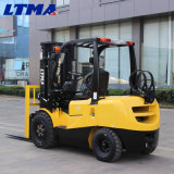 La Chine Due-Fuel GPL de 3 tonnes de fourche de levage élévateur à fourche avec moteur Nissan