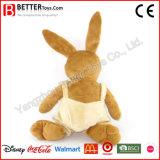 Het leuke Zachte Konijn van het Stuk speelgoed van de Pluche van het Konijntje Dier Gevulde voor Jonge geitjes/Kinderen