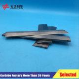 Garnitures intérieures de carbure de tungstène pour les couteaux fonctionnants en bois