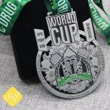 Fabrik-Preis-kundenspezifisches Medaillen-Abzeichen-Münzen-Metallzeichen für Andenken