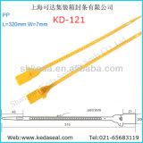 Tirante de travamento de plástico da Vedação de Segurança Apertada Tipos Kd-121