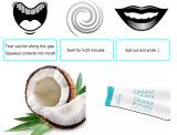 Pfefferminz-Aroma des Quetschkissen-10ml, welches das Zahn-Kokosnussöl-Ziehen weiß wird